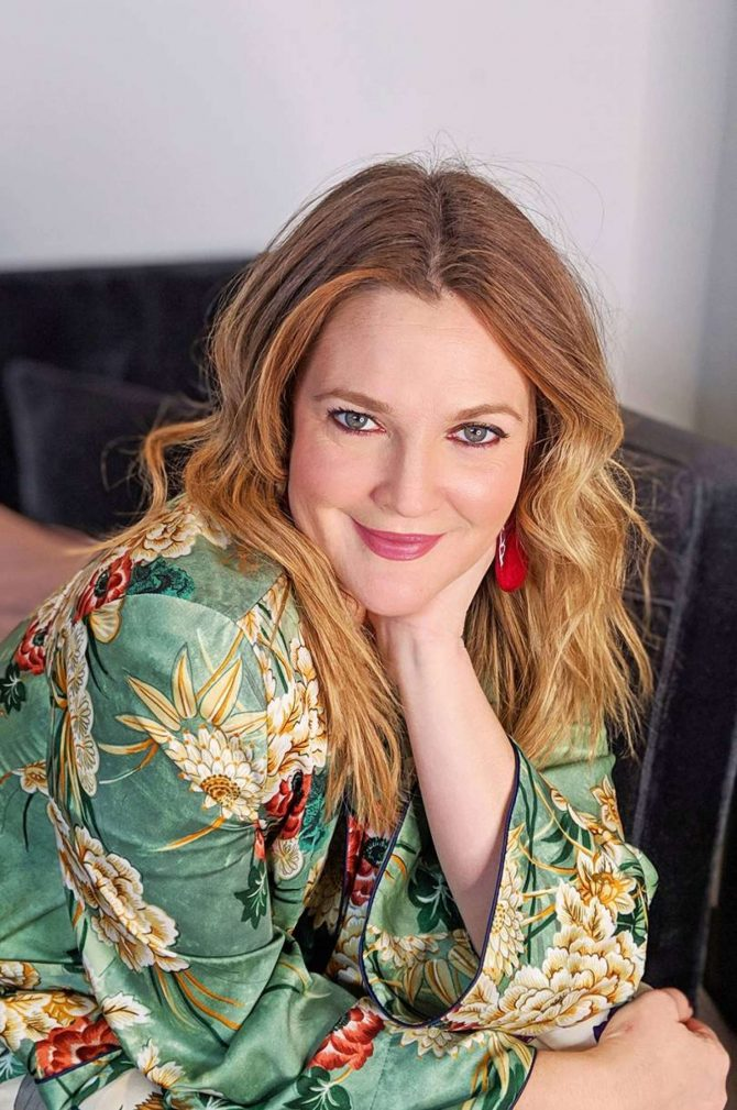 Drew Barrymore – Glamour UK Magazine (January 2019)