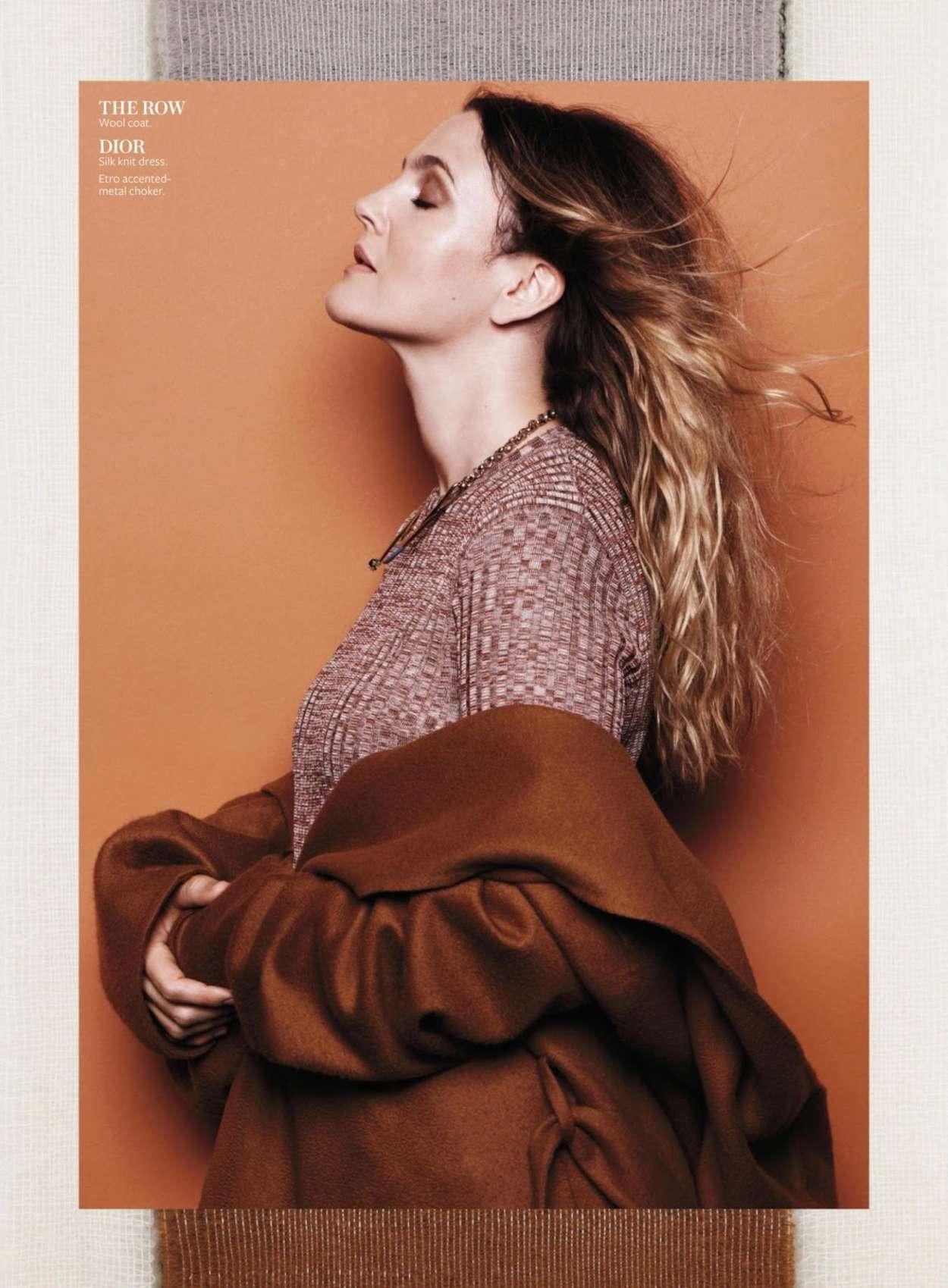 Drew Barrymore 2015 : Drew Barrymore: InStyle US 2015 -01