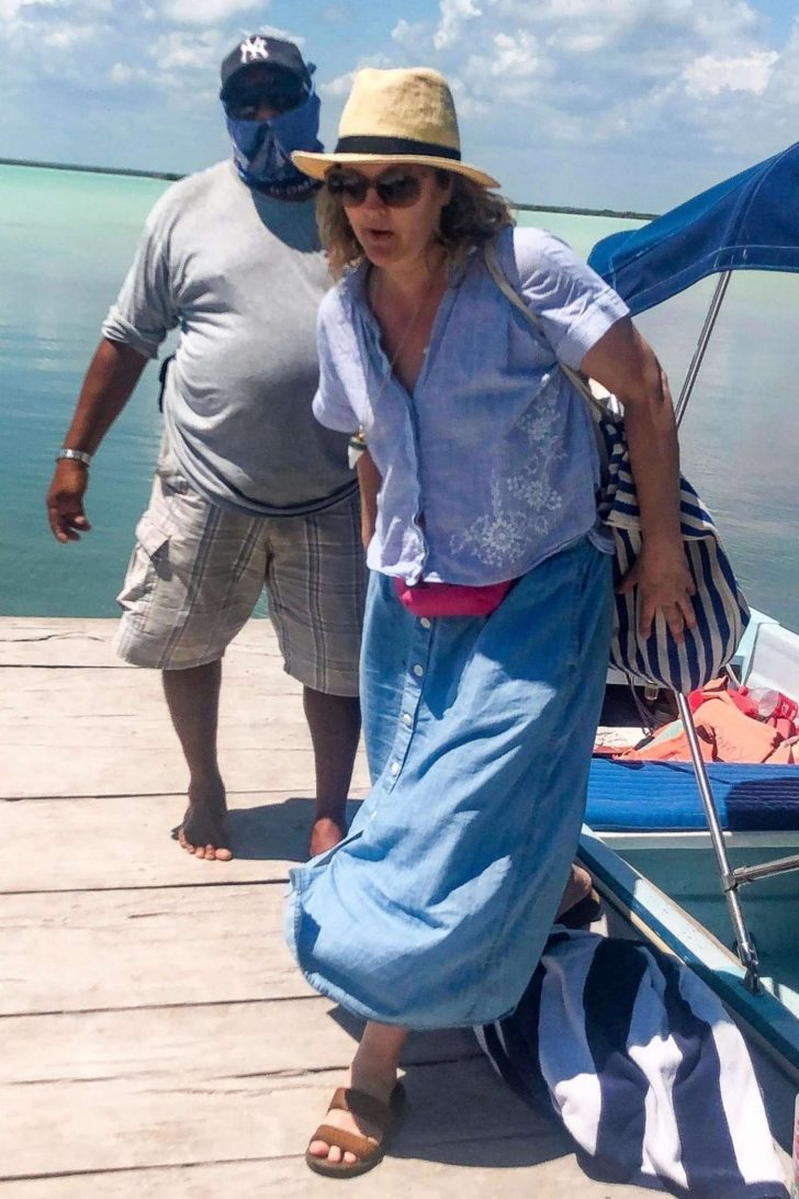 Drew Barrymore on vacation in Tulum -08