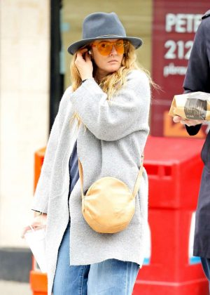 Drew Barrymore Out in New York