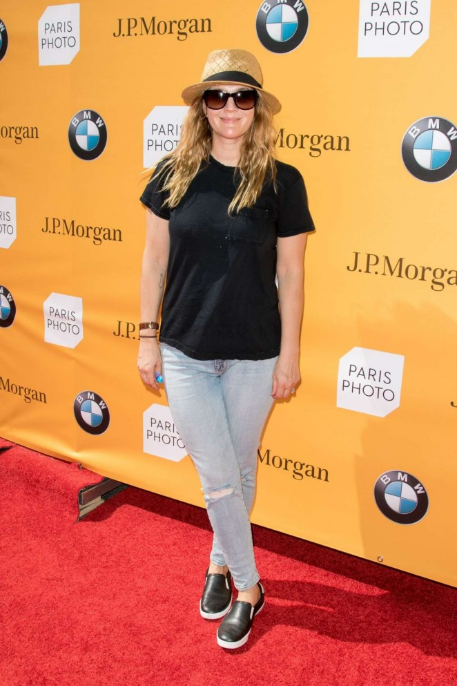 Drew Barrymore: Paris Photo VIP Preview -04
