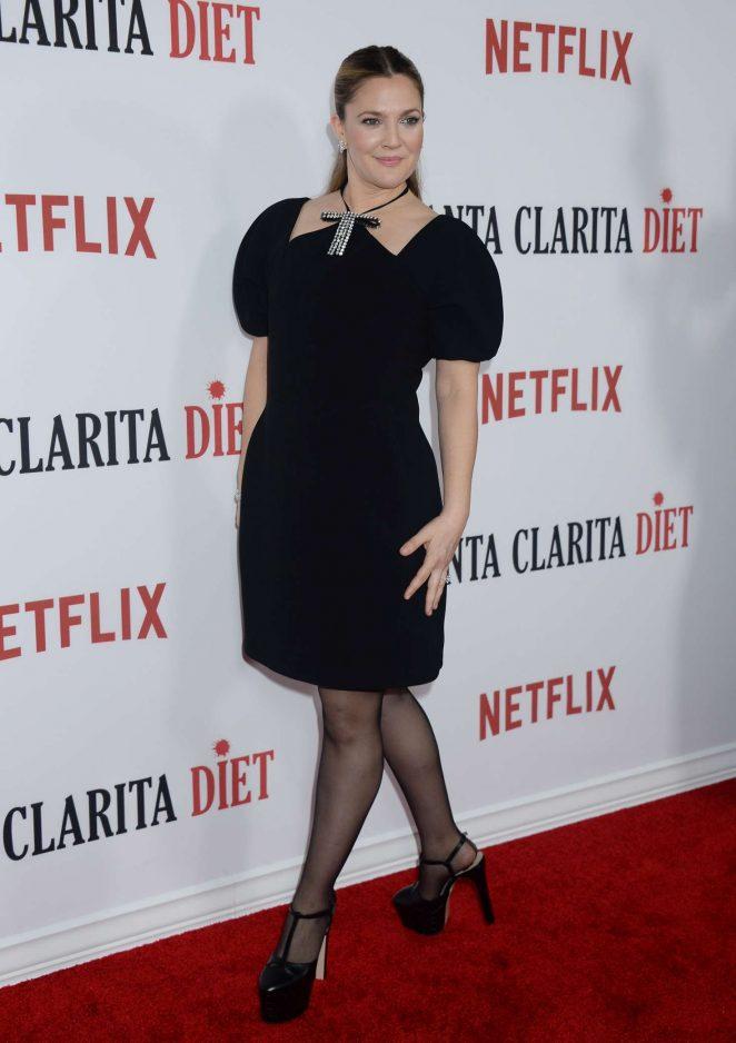 Drew Barrymore - 'Santa Clarita Diet' Premiere in Hollywood