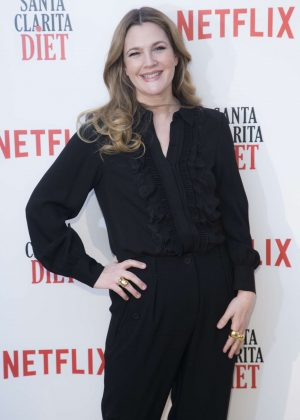 Drew Barrymore - 'Santa Clarita Diet' TV Show Photocall in Madrid
