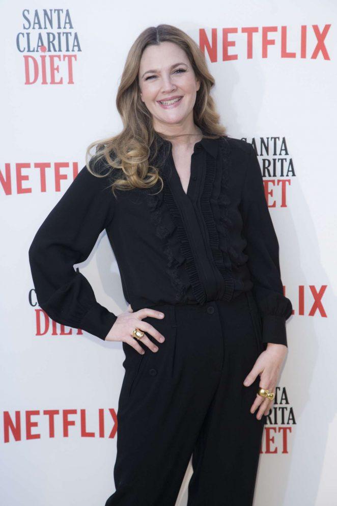 Drew Barrymore – 'Santa Clarita Diet' TV Show Photocall in Madrid