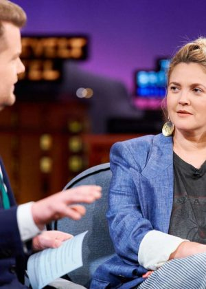 Drew Barrymore - 'The Late Late Show with James Corden' in LA