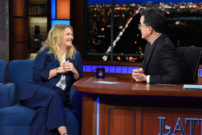 Drew Barrymore – 'The Late Show with Stephen Colbert' in NY