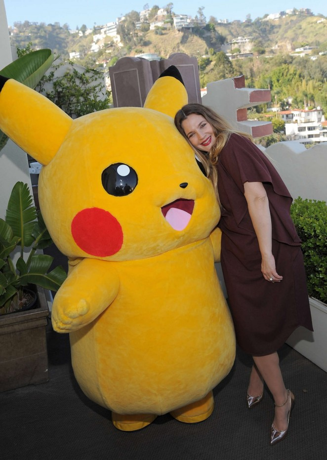Drew Barrymore: Tracy Paul and Co Presents Pokemon Afternoon Soiree -01