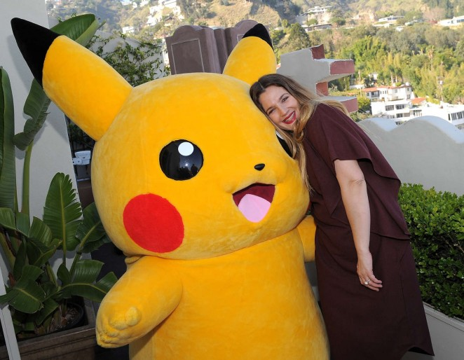 Drew Barrymore 2016 : Drew Barrymore: Tracy Paul and Co Presents Pokemon Afternoon Soiree -04
