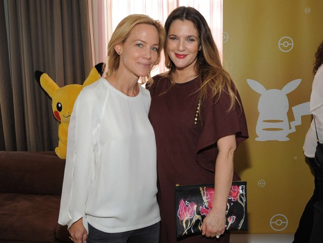 Drew Barrymore: Tracy Paul and Co Presents Pokemon Afternoon Soiree -05