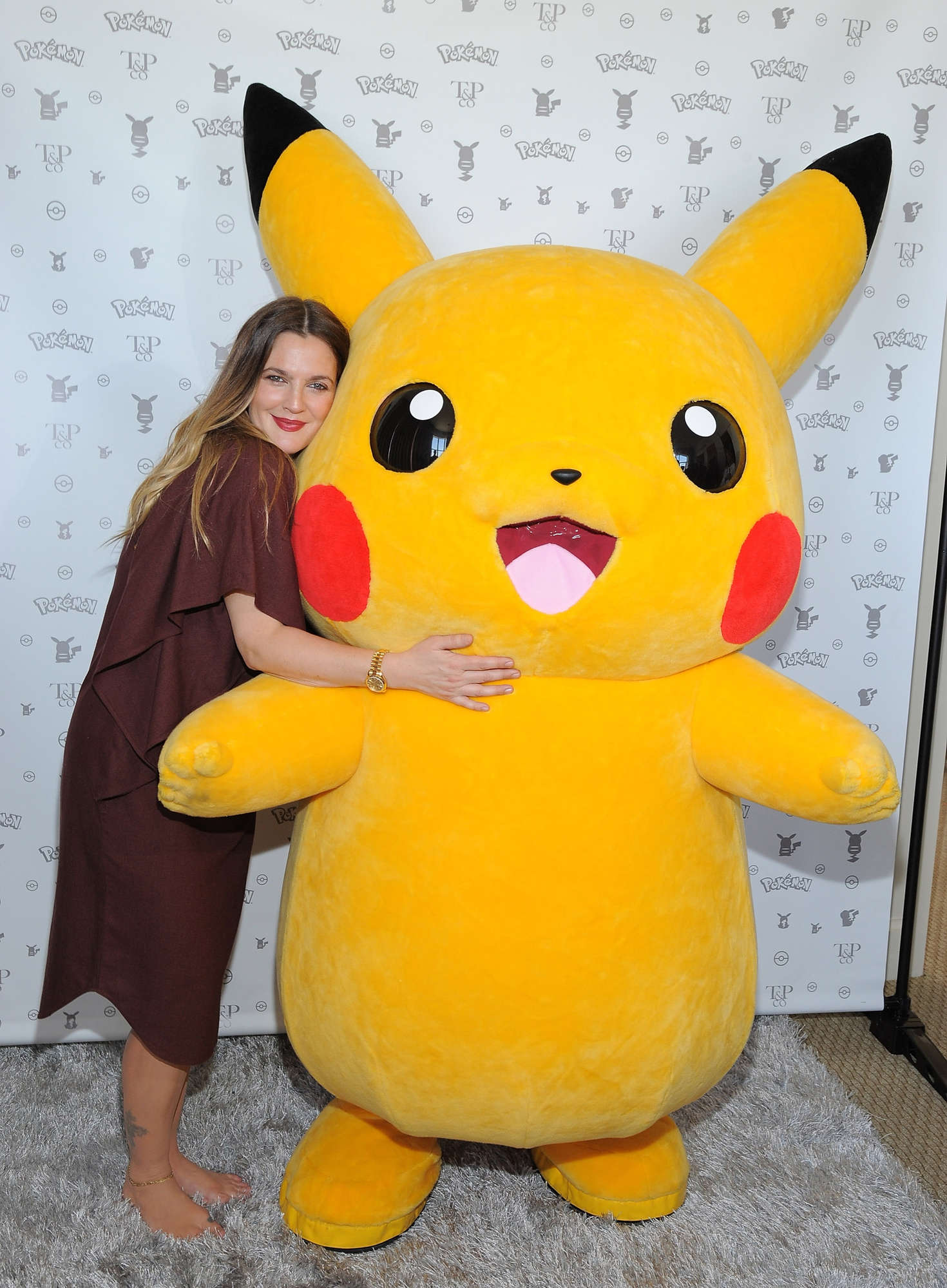 Drew Barrymore 2016 : Drew Barrymore: Tracy Paul and Co Presents Pokemon Afternoon Soiree -07
