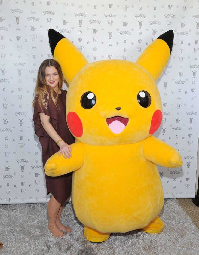 Drew Barrymore: Tracy Paul and Co Presents Pokemon Afternoon Soiree -09