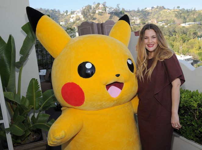 Drew Barrymore: Tracy Paul and Co Presents Pokemon Afternoon Soiree -11