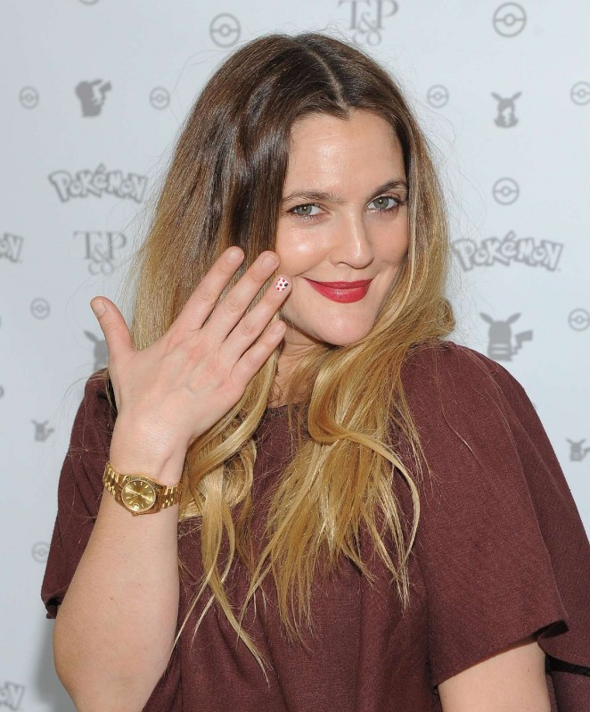 Drew Barrymore: Tracy Paul and Co Presents Pokemon Afternoon Soiree -13