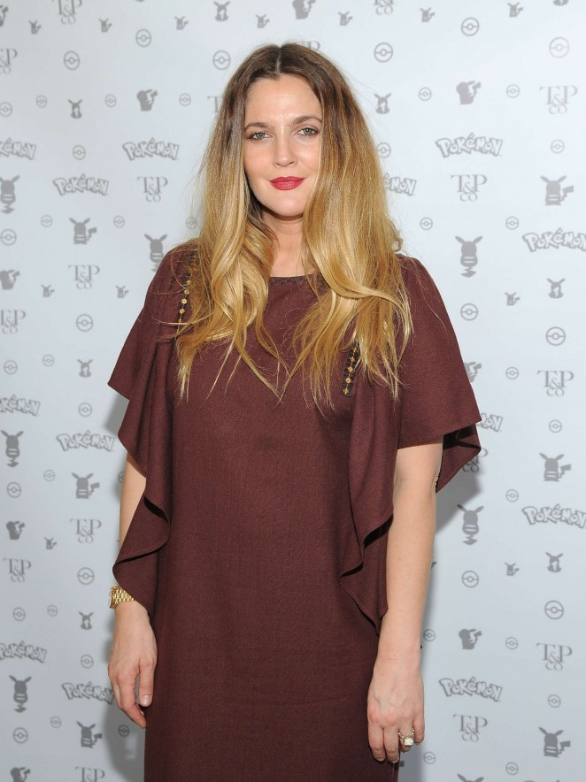 Drew Barrymore - Tracy Paul and Co Presents Pokemon Afternoon Soiree in West Hollywood