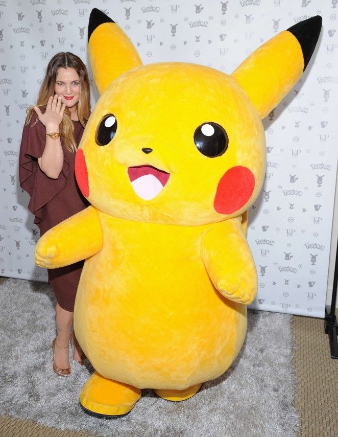 Drew Barrymore: Tracy Paul and Co Presents Pokemon Afternoon Soiree -15
