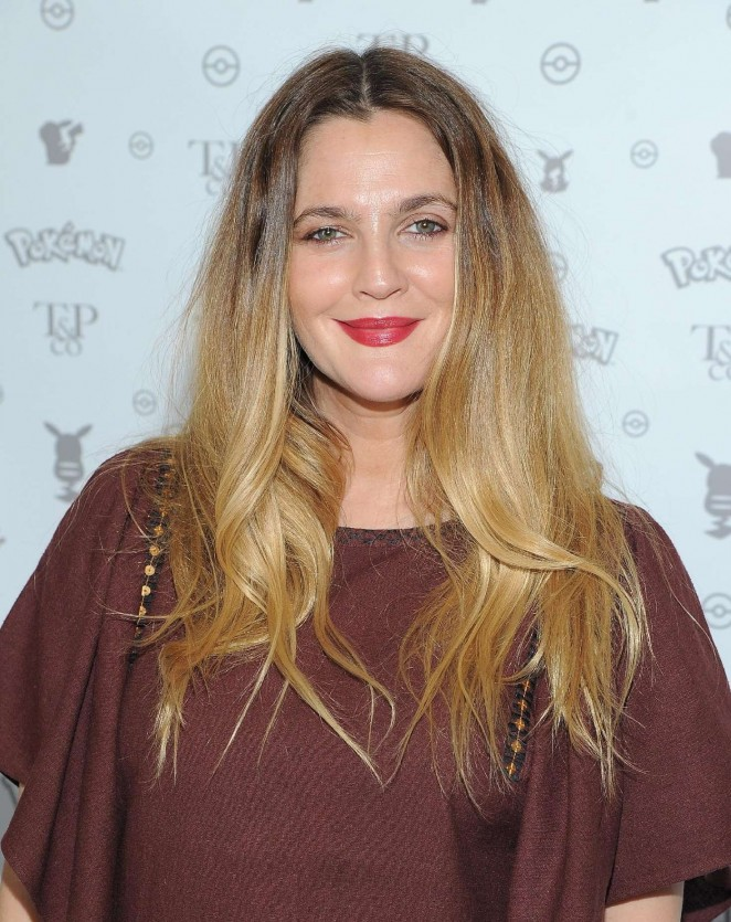 Drew Barrymore: Tracy Paul and Co Presents Pokemon Afternoon Soiree -16