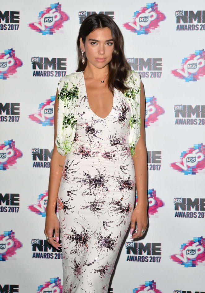 Dua Lipa - 2017 NME Awards in London