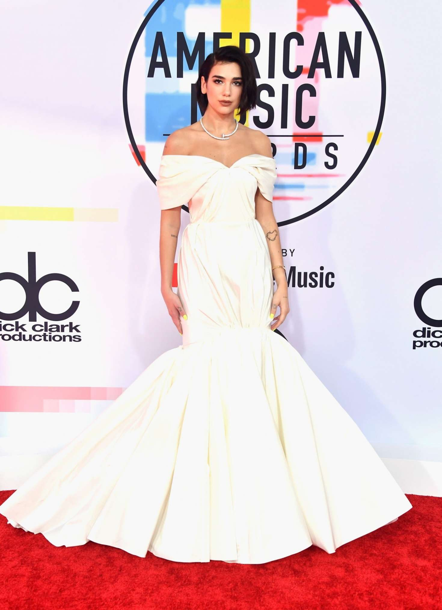 Dua Lipa 2018 : Dua Lipa: 2018 American Music Awards -04