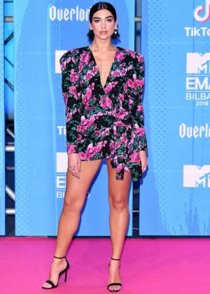 Dua Lipa - 2018 MTV Europe Music Awards in Bilbao