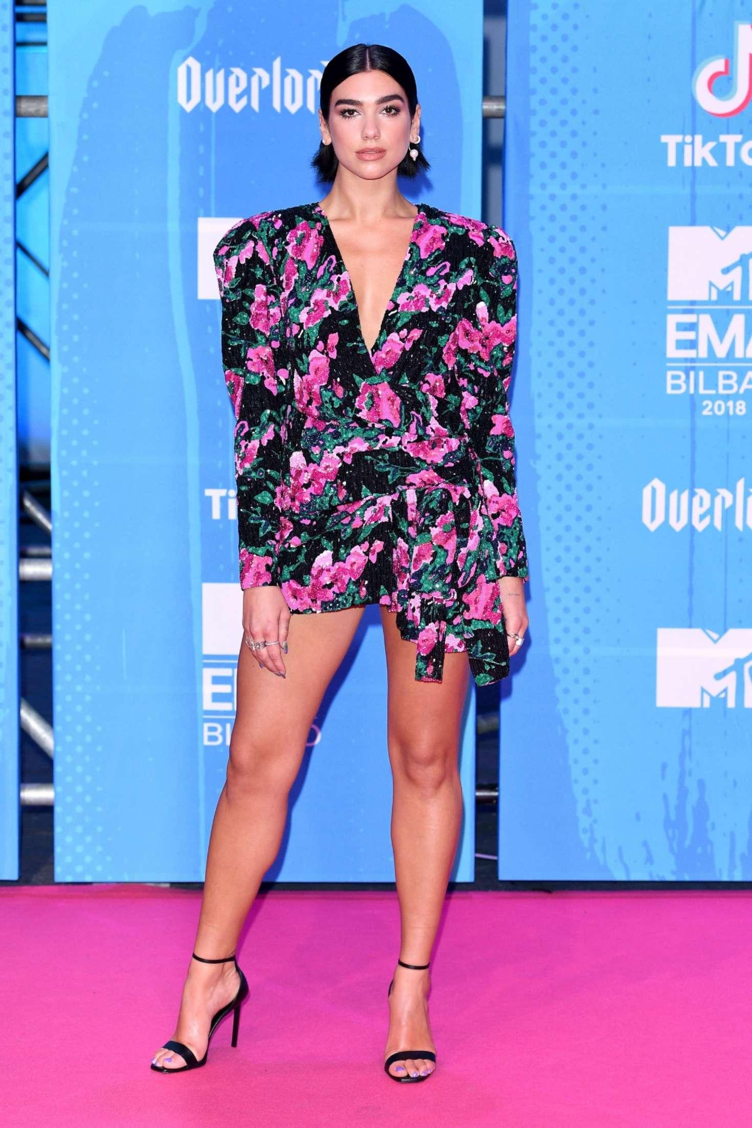 Dua Lipa - 2018 MTV Europe Music Awards in Bilbao