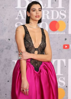 Dua Lipa - 2019 BRIT Awards in London
