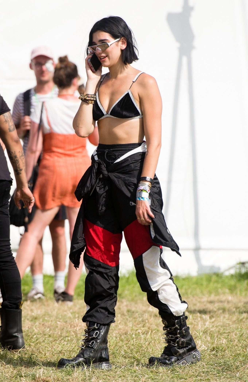 Dua Lipa - 2019 Glastonbury Festival Day 3 in Pilton