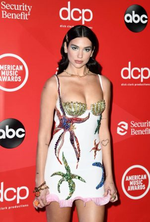 Dua Lipa - 2020 American Music Awards in Los Angeles