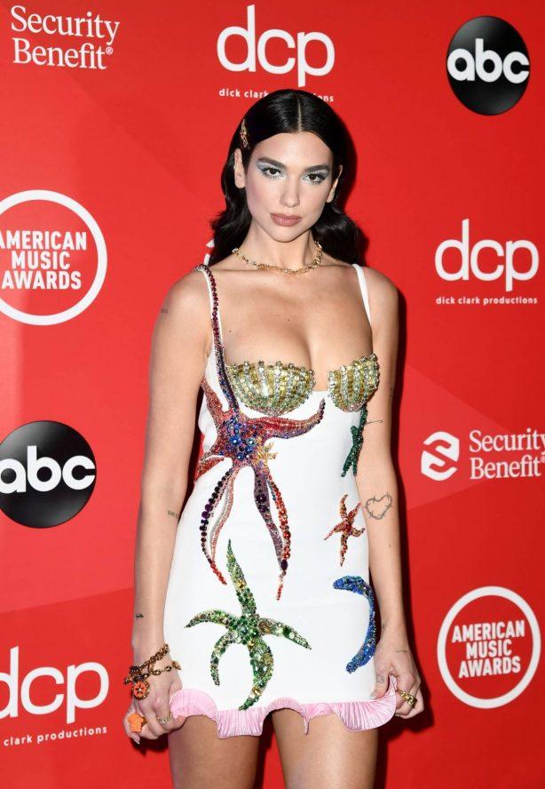 Dua Lipa - 2020 American Music Awards in Los Angeles