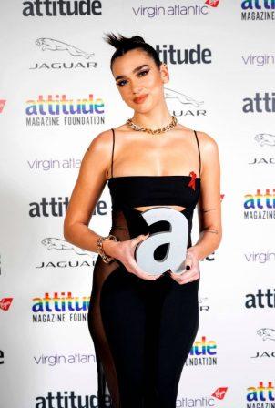 Dua Lipa - 2020 Virgin Attitude Awards in London