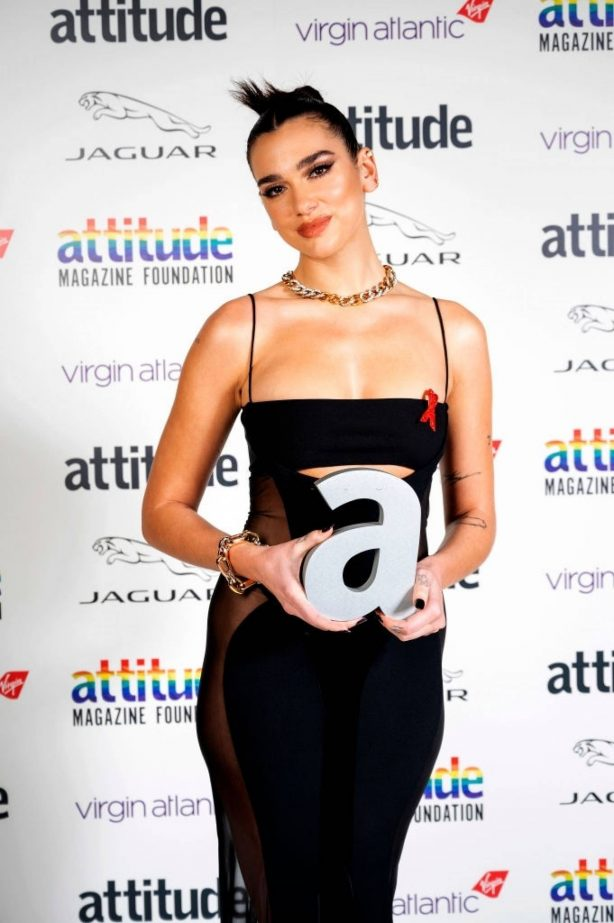 Dua Lipa - 2020 Virgin Attitude Awards in London