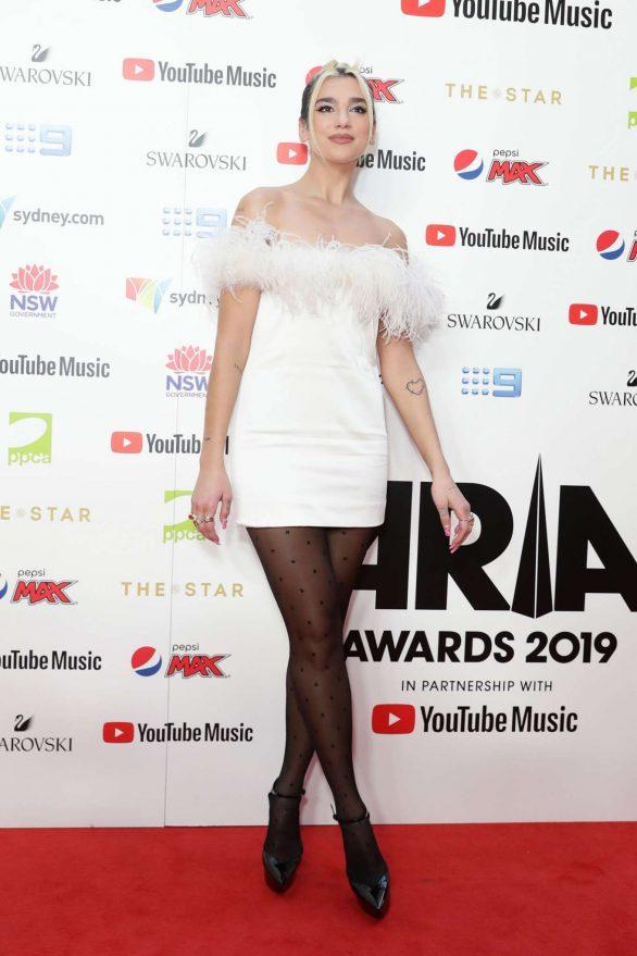 Dua Lipa - ARIA Awards 2019 in Sydney