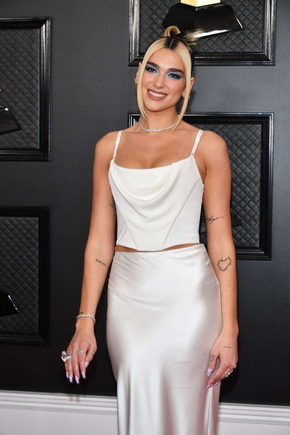 Dua Lipa - 2020 Grammy Awards in Los Angeles