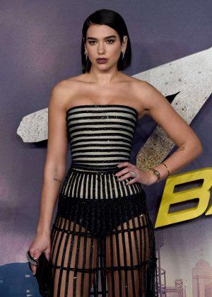 Dua Lipa - 'Alita: Battle Angel' Premiere in London