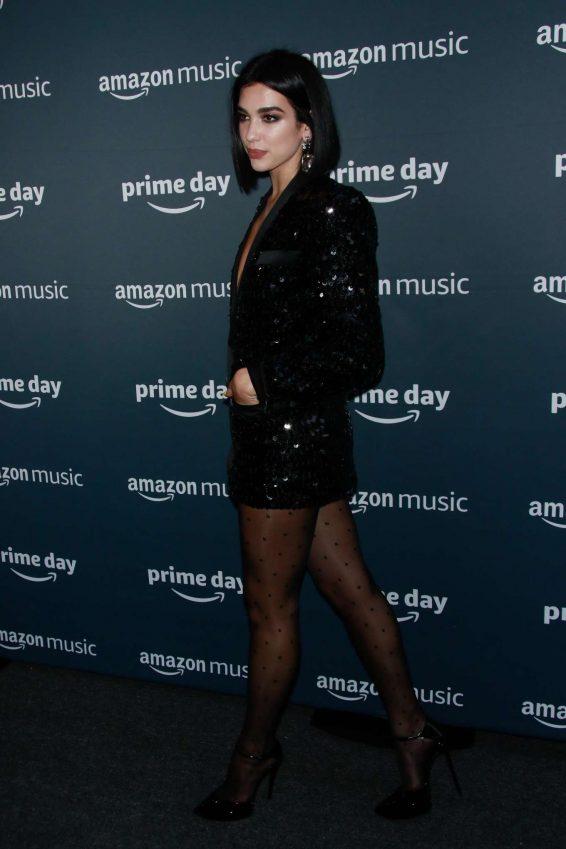 Dua Lipa 2019 : Dua Lipa – Amazons Prime Day Concert-12
