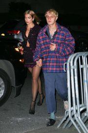 Dua Lipa and Anwar Hadid - Heads to Bella Hadids birthday in New York