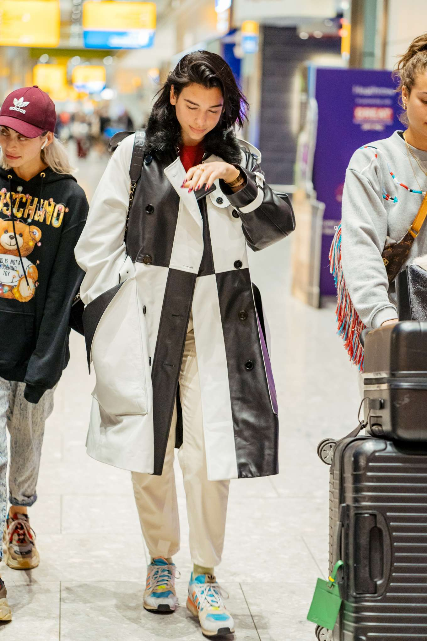 Dua Lipa: Arrives at Heathrow Airport-05