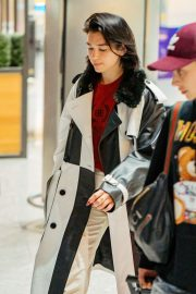 Dua Lipa - Arrives at Heathrow Airport in London