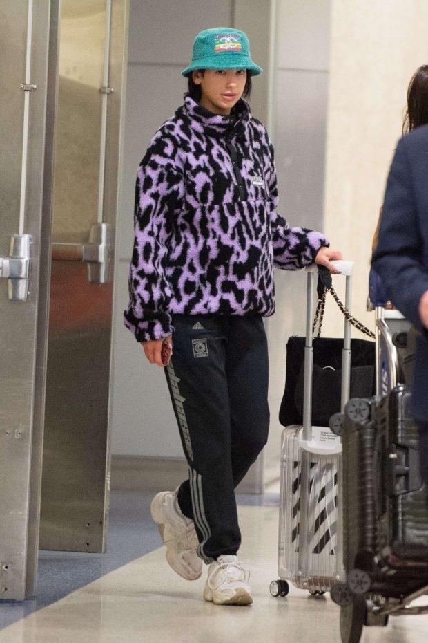 Dua Lipa: Arrives at JFK Airport in New York City -01