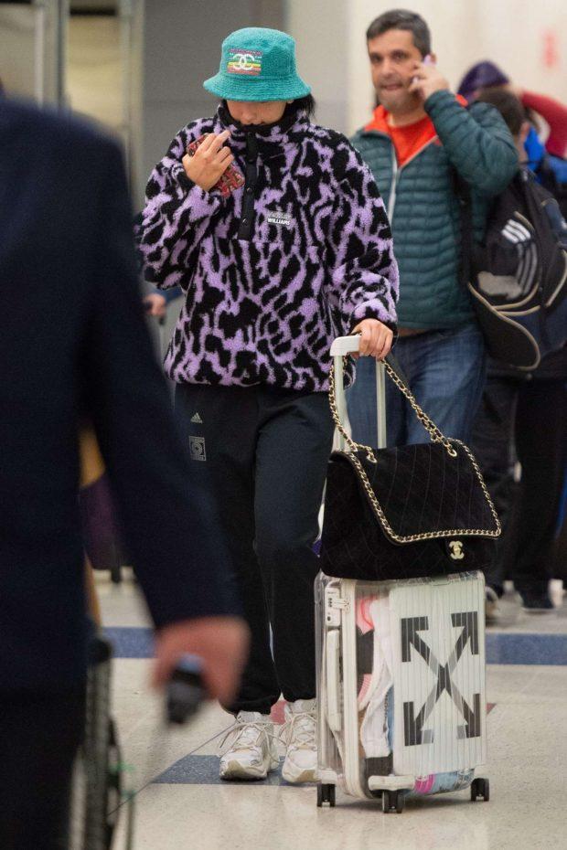 Dua Lipa: Arrives at JFK Airport in New York City -02
