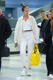 Dua Lipa - Arrives at JFK Airport in New York