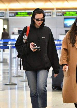 Dua Lipa – Arrives at LAX International Airport in LA