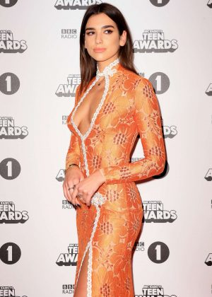 Dua Lipa - BBC Radio 1's Teen Awards 2016 in London