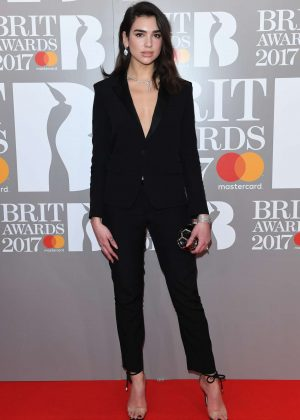 Dua Lipa - BRIT Awards 2017 in London
