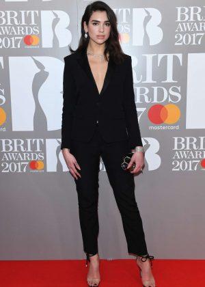 Dua Lipa - BRIT Awards 2017 in London