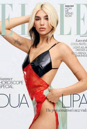 Dua Lipa - Elle Canada Magazine (Summer 2020)