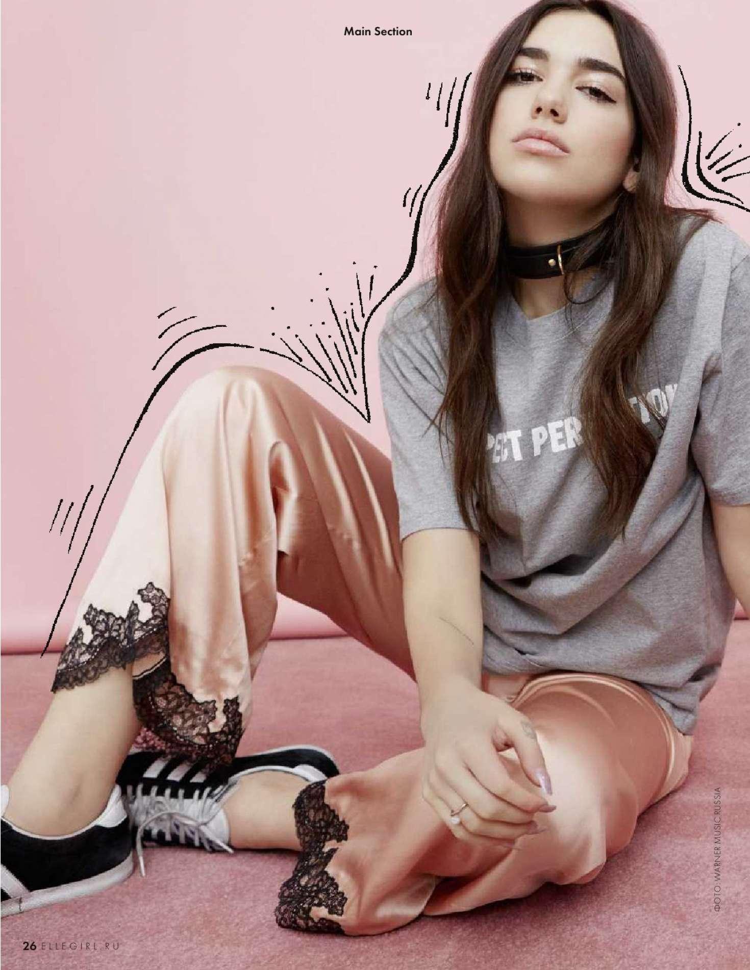 Dua Lipa - Elle Girl Magazine (July 2018)
