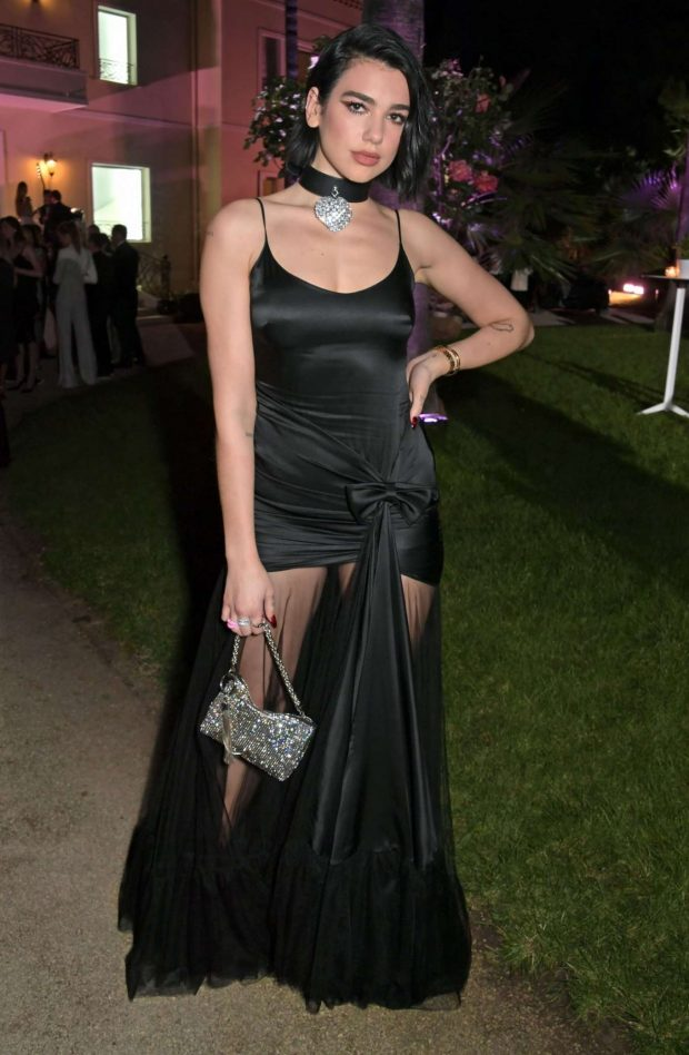 Dua Lipa - Formula E Dinner Celebrating Premiere of 'And We Go Green' in Cannes