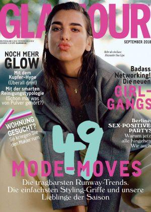 Dua Lipa - Glamour Germany Cover (September 2018)