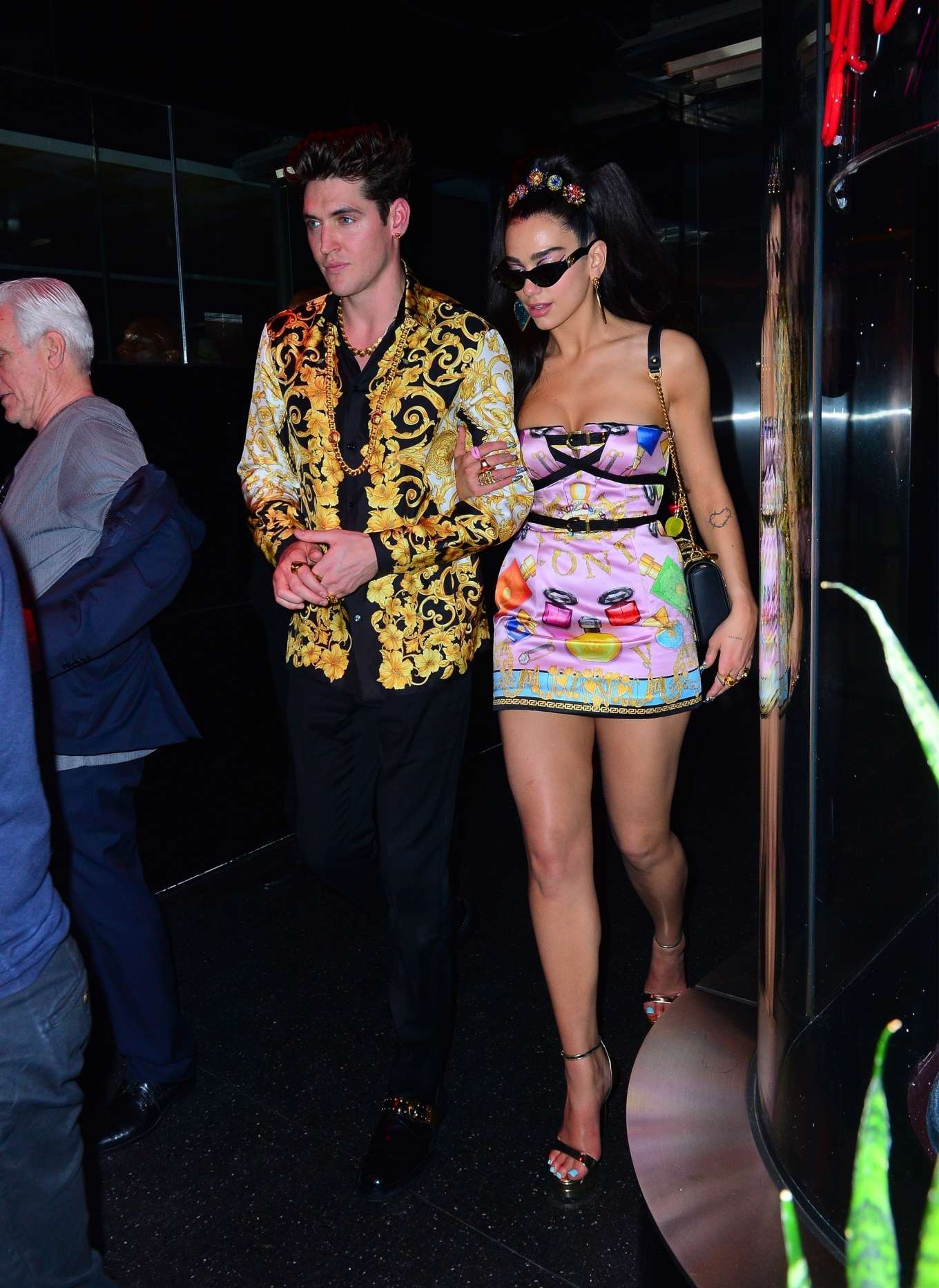 Dua Lipa - Heads to the Met Gala After Party in NYC