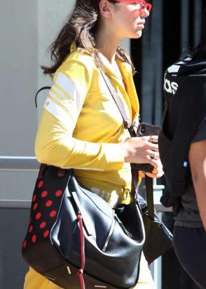 Dua Lipa - Leaving her hotel in Perth